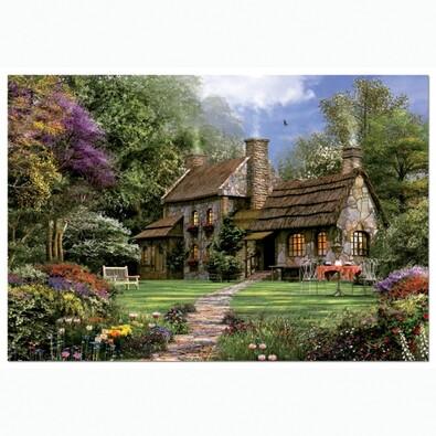 Puzzle Kamenný domek Educa, 3000 dílků, vícebarevná