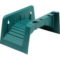 FLO TO-89345 držák hadice na zeď, zelená