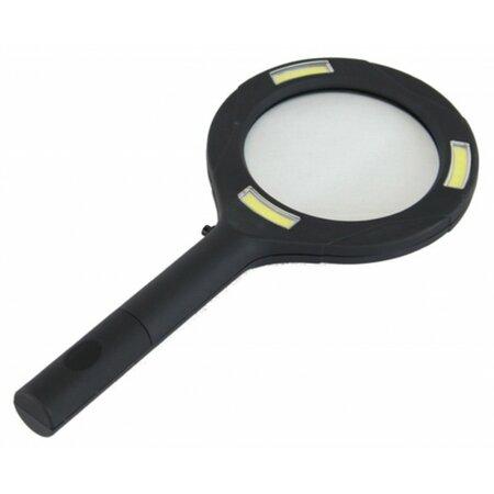 Lupa s LED svetlom, pr. 11 cm