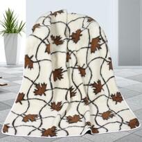 Vlněná deka Javor, 155 x 200 cm