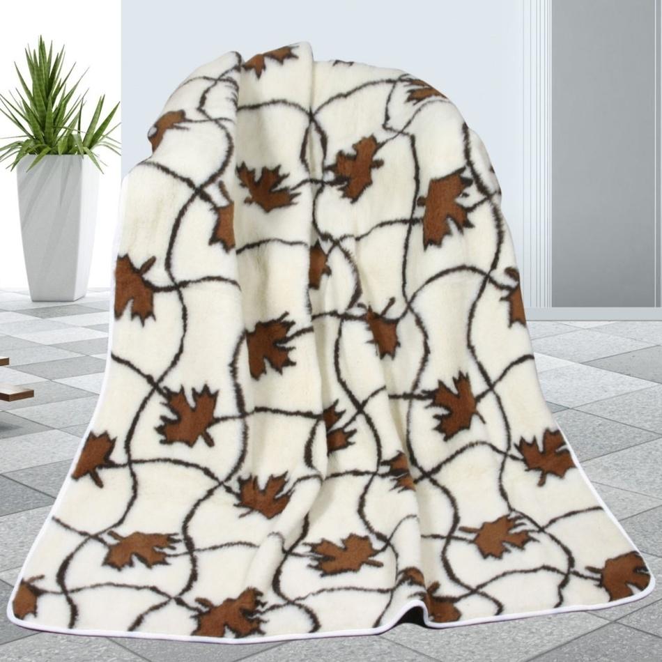 Bellatex Vlněná deka Javor, 155 x 200 cm