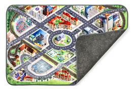 Dětský koberec Ultra Soft Letiště, 95 x 145 cm
