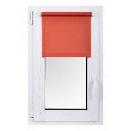 Roleta MINI Rainbow Line czerwony 57 x 150 cm