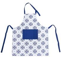 Kuchynská zástera Blue Shapes, 86 x 71 cm