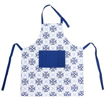 Șorț de bucătărie Blue Shapes, 86 x 71 cm