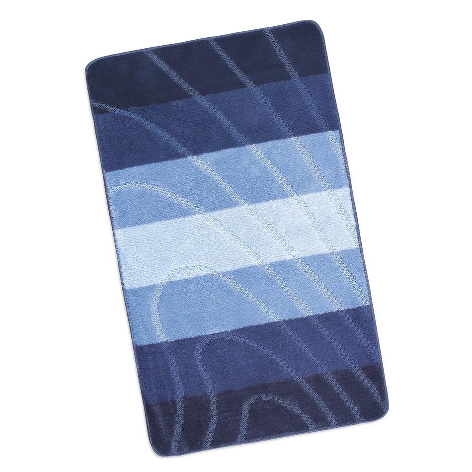 Bellatex Kúpeľňová predložka Elli Modrá vlna, 60 x 100 cm