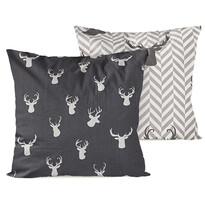 4Home Poszewka na poduszkę Reindeer, 40 x 40 cm, zestaw 2 szt.