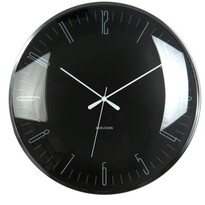 Karlsson 5623BK zegar ścienny, 40 cm
