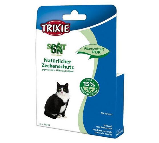 Antiparazitný prostriedok pre mačky Trixie, 4x0,75