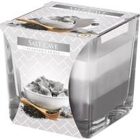 Świeczka zapachowa w szkle Tęcza Jaskinia solna, 170 g