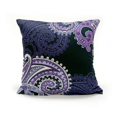 Povlak na polštářek satén Casablanca Purple, 40 x 40 cm