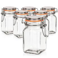 Banquet Lina hermetikusan zárható üveg tároló  250 ml, 6 db-os szett