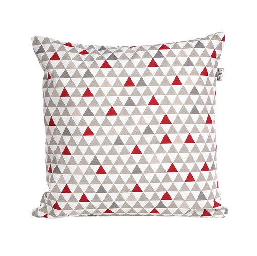 Obliečka na vankúšik Triangles, 40 x 40 cm