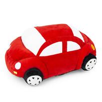 Pernă cu formă aparte Mașinuță, roșu, 33 x 15 cm