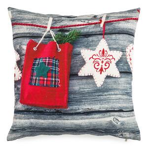 BO-MA Trading Povlak na polštářek Vánoční čas, 40 x 40 cm