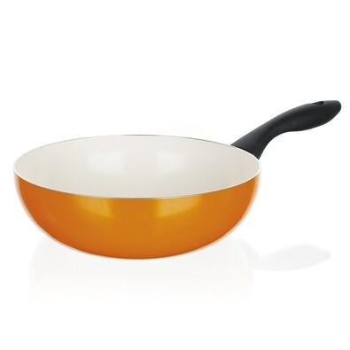 Banquet WOK pánev 24 cm oranžová