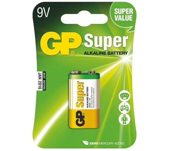 Batéria GP 1604A 9V Blistr