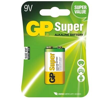 GP Greencell 1604A 9V BLISTR alkalická baterie