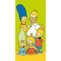 Simpsons Family törölköző, 70 x 140 cm