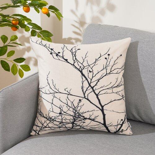 4Home Poszewka na poduszkę Scandi Tree, 45 x 45 cm