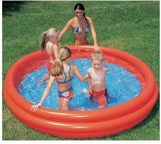 Bazén trojkomorový 122 x 25 cm, Acra