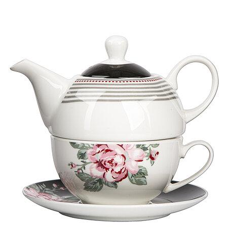 Serviciu de ceai Altom Paris Rose