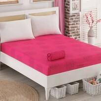 Sedef dzsörzé lepedő, rózsaszín, 90 x 200 cm
