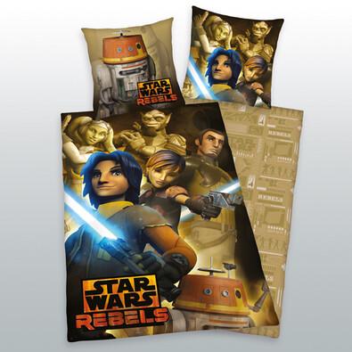 Dětské bavlněné povlečení Star Wars Rebels, 140 x 200 cm, 70 x 90 cm