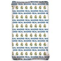 Cearșaf bumbac Real Madrid, 90 x 200 cm