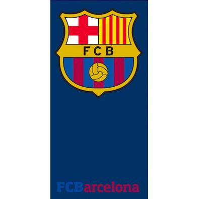 Osuška FC Barcelona logo, 70 x 150 cm