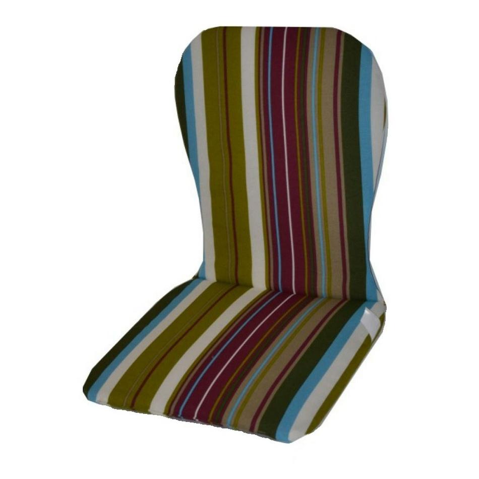 Poduška vysoká na plastové stoličky, vzor Monoblock