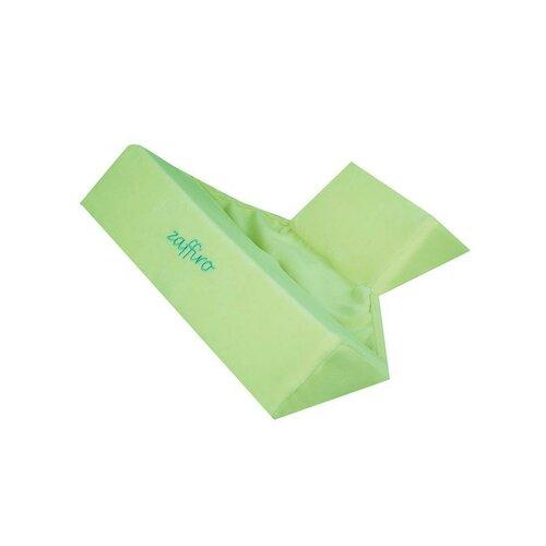 Womar Dětská trojhranná opěrka zelená, 68 x 74 cm