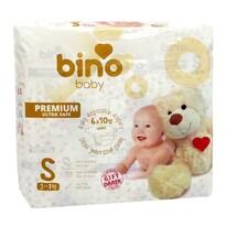 Bino Baby Dětské jednorázové pleny Premium S, 60 ks
