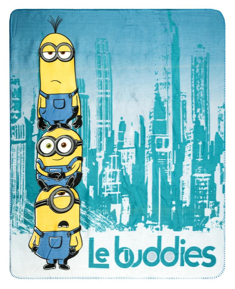 Produktové foto Jerry Fabrics Dětská deka Mimoni Le buddies, 120 x 150 cm