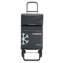 Rolser Nákupná taška na kolieskach Termo Fresh MF Convert RG, tmavosivá