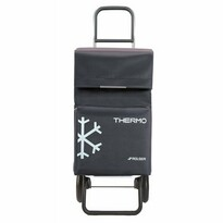 Rolser Nákupní taška na kolečkách Termo Fresh MF Convert RG, tmavě šedá