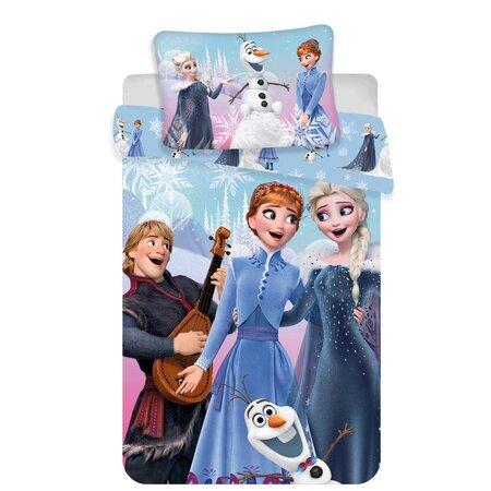 Dziecięca pościel bawełniana Frozen winter, 140 x 200 cm, 70 x 90 cm