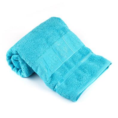 Ręcznik kąpielowy Bamboo Exclusive niebieski, 70 x 140 cm