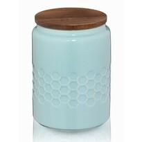 Kela Pojemnik ceramiczny na żywność MELIS 0,8 l, niebieski