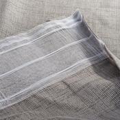 Závěs s řasící páskou Roko bílá, 140 x 245 cm