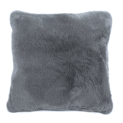 Povlak na polštářek Catrin šedá, 45 x 45 cm