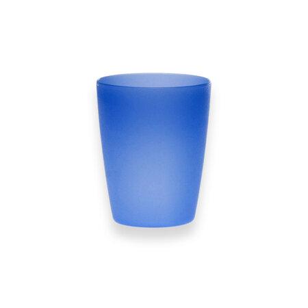 Altom Sada plastových kelímků 250 ml, 10 ks, modrá