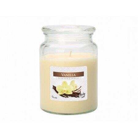 Vonná svíčka ve skle Vanilka, 500 g