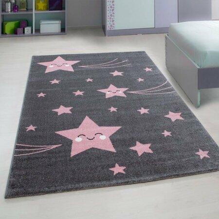 Kusový dětský koberec Kids 610 pink , 80 x 150 cm