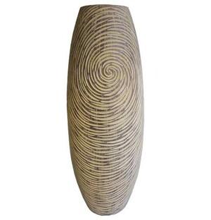 Váza v přírodních barvách 45 cm