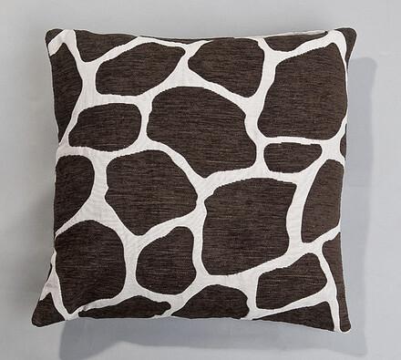 Povlak na polštářek Žirafa BO-MA, 45 x 45 cm, bílá + černá