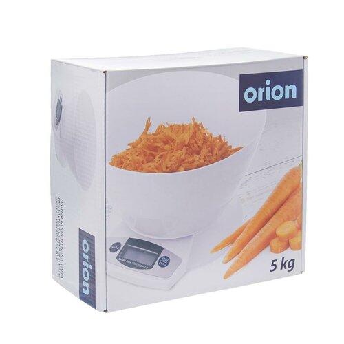 Orion Kuchyňská digitálna váha s miskou