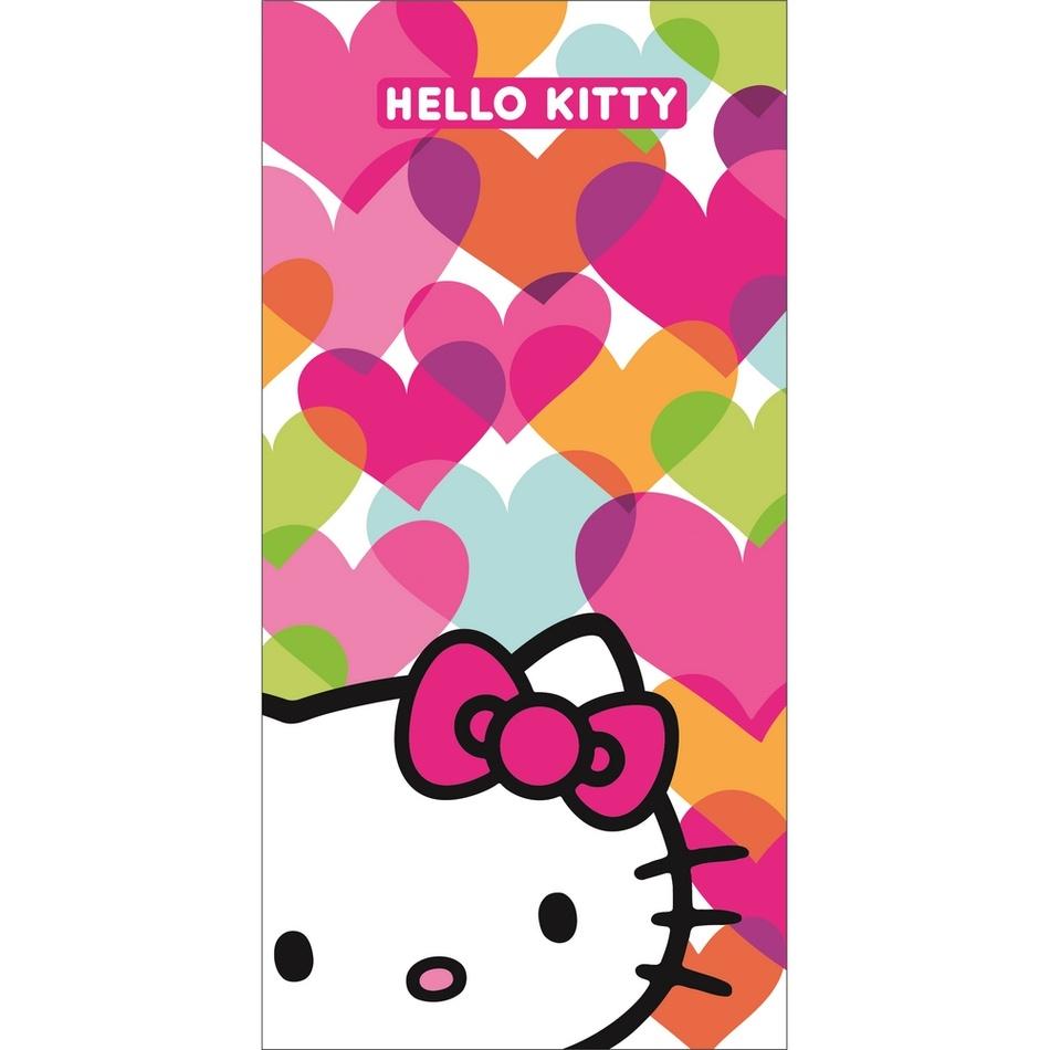 CTI Osuška Hello Kitty Mimi Love, 75x150 cm - 100% bavlna