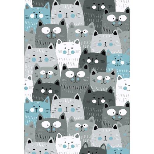 Vopi Kusový detský koberec Kiddo 1079 blue, 160 x 230 cm