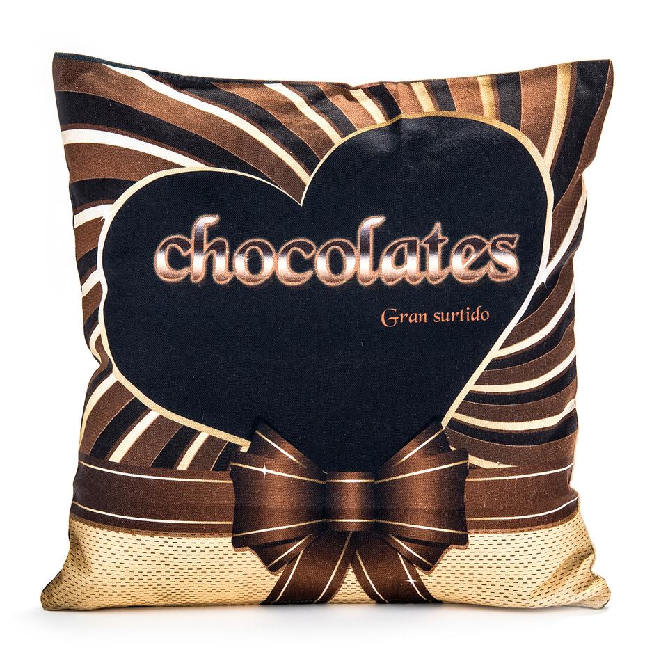 Ariatex vankúšik Čokoláda, 40 x 40 cm
